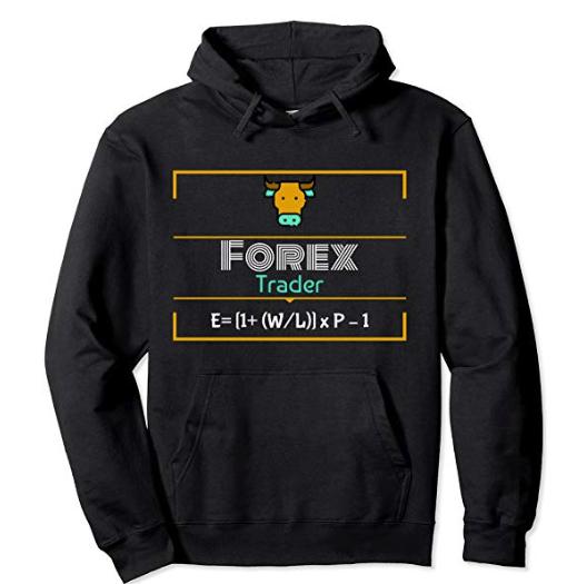 Forex Trader Top Formula Designer Pullover Hoodie BLACK